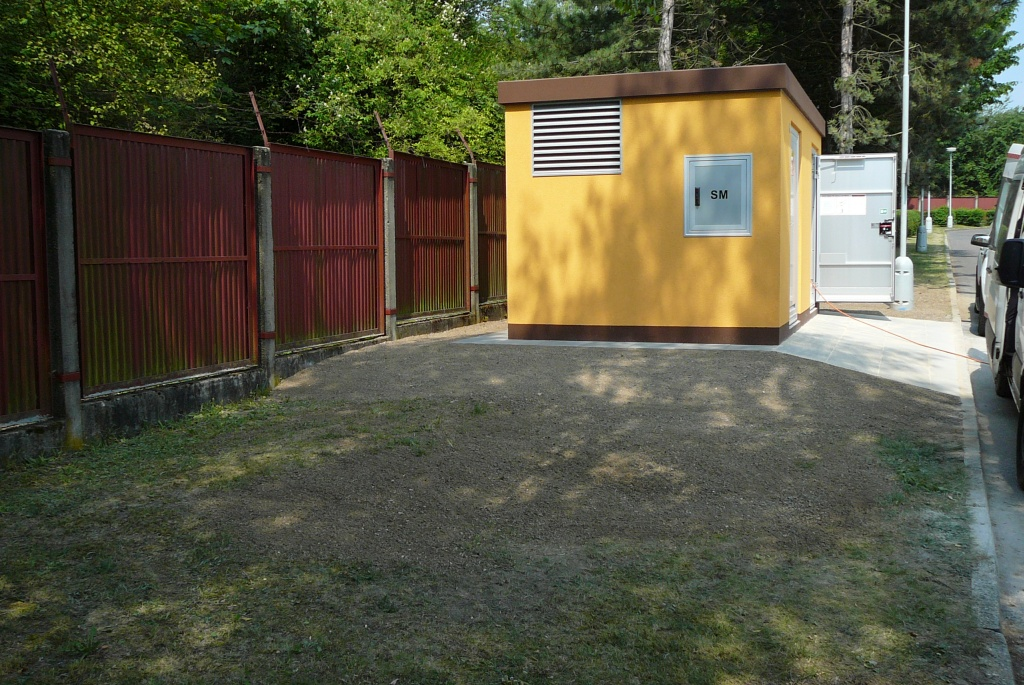 Kompek Kladno – vstupní stanice VN 22 kV
