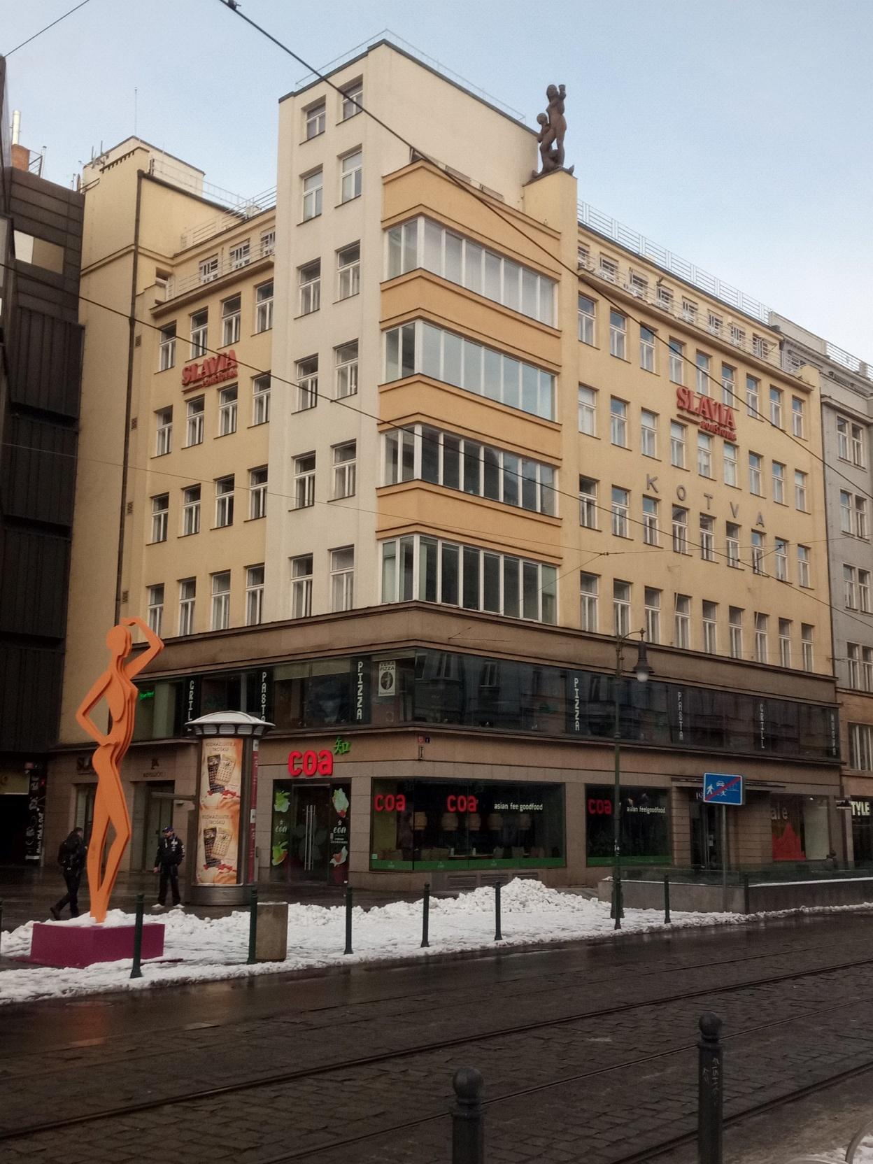 Rekonstrukce Revoluční, Praha 1