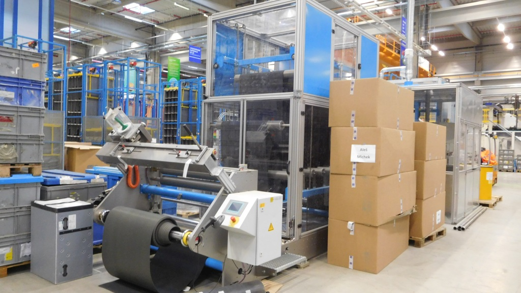 Instalace strojů pro automobilový průmysl 2017