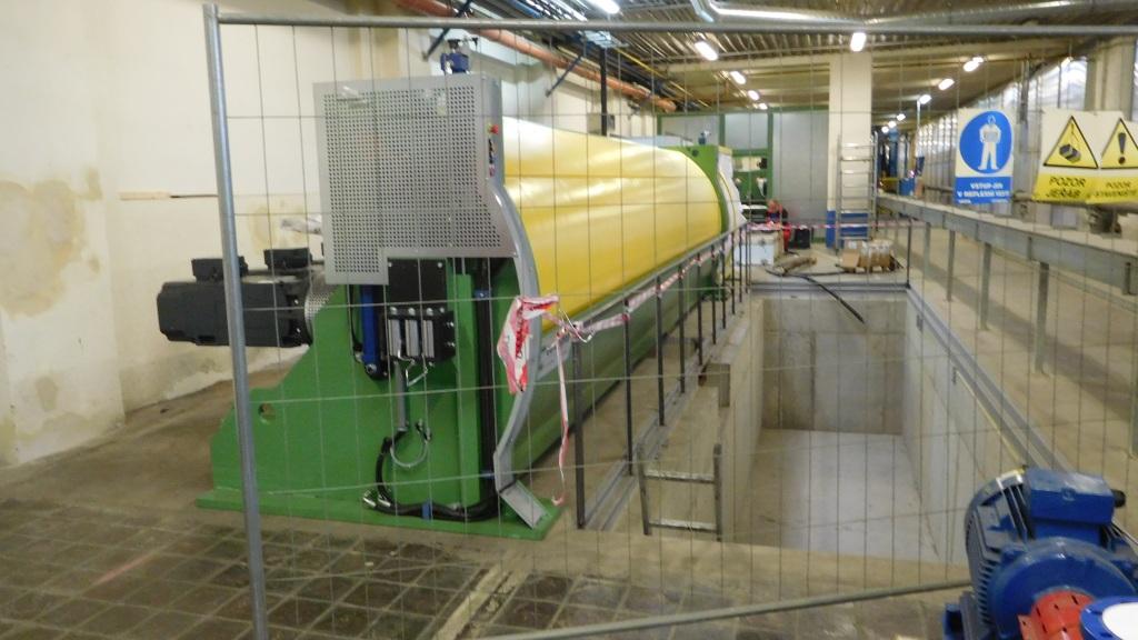 Tažící stroje na výrobu kabelů 2017