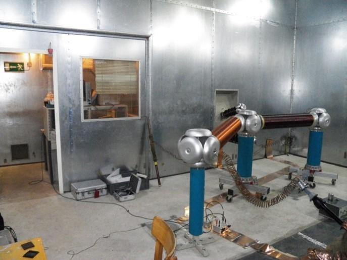 Testovací komora VN 60 kV